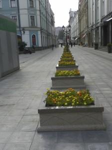 Pedestrian walk street...